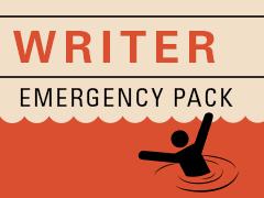 Writer Emergency Pack - helping writers get unstuck.