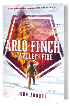 Arlo Finch: A perfect summer camp read.